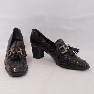 Stuart Weitzman Vintage Heeled Oxfords- Sz. 7.5
